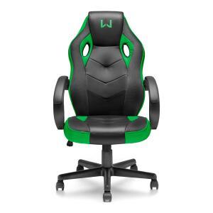 [AME por R$654,45] Cadeira Gamer Verde Warrior - GA160 | R$935