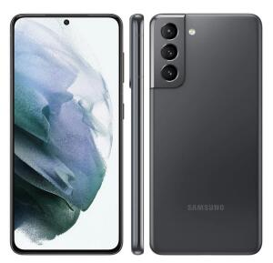 "Smartphone Samsung Galaxy S21 5G Cinza 128GB, 8GB RAM, Tela Infinita de 6.2"" | R$2599"