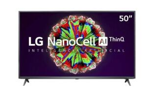 "[APP] Smart TV LG 50"" 4K NanoCell 5 | R$2291"