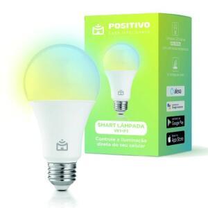Smart Lâmpada Positivo Casa Inteligente 9w | R$63
