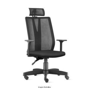 Cadeira de escritório Addit Presidente Frisokar | R$ 911