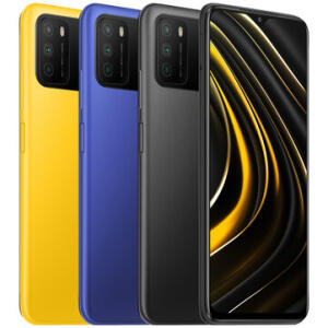 Smartphone Xiaomi Poco M3 4GB + 128GB   R$740