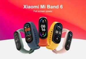 Xiaomi Mi Band 6 Pulseira Inteligente 1.56'' Amoled Tela Cheia R$158