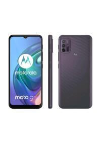 "Moto G10 64GB Cinza Aurora - 4G 4GB RAM Tela 6,5"" Câm. Quádrupla + Selfie 8MP R$1100"