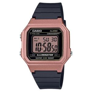 Relógio Feminino Digital Casio W-217HM-5AV - Preto/Rosa   R$97