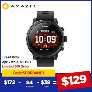 Smartwatch Amazfit stratos 3 - Versão global | R$976