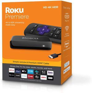 [Primeira Compra] Roku Premiere Streaming 4K | R$150