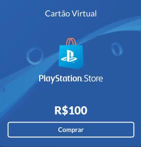Gift Card PSN de R$100 | R$90