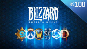 Saldo Blizzard de R$100   R$90