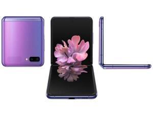 [APP | Cliente Ouro | Cidades selecionadas] Samsung Galaxy Z Flip (Violeta) | R$3200