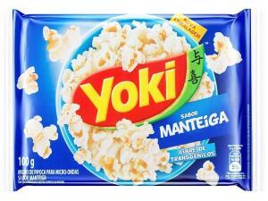 (APP - Cliente Outo) (LEVE 6 PAGUE 4) Pipoca Yoki manteiga 100gr | R$1,07