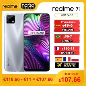 Smartphone Realme 7i 4GB 64GB - Versão Global | R$752