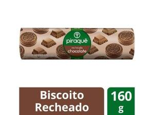 [APP C.Ouro] Biscoito Recheado Chocolate Piraquê - 160g