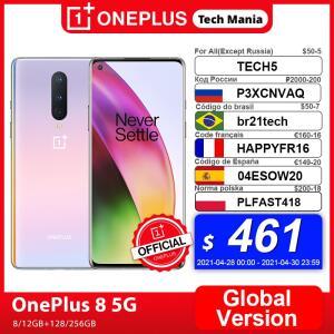 Smartphone Oneplus 8 5G - 8gb 128gb Versão Global | R$2.810