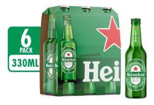 Cerveja heineken long neck 330ml | R$3,53