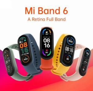 Xiaomi Mi Band 6 pulseira inteligente 1.56 | R$ 180