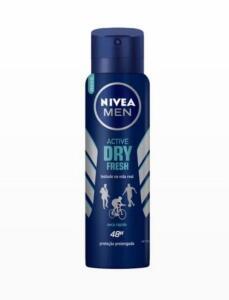 12 UNI. Desodorante Nivea Men Dry Fresh 150ml | R$5,33 cada| | R$65