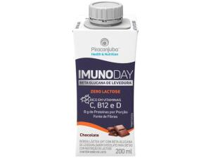 [Leve 6 pague 4] Bebida Láctea Piracanjuba Imunoday Zero Lactose - Original 200ml R$1,86