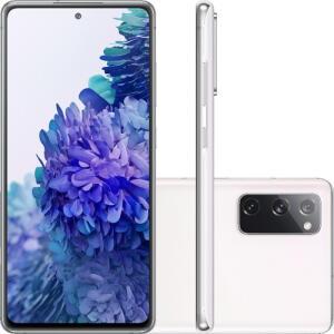 "Smartphone Samsung Galaxy S20 FE Cloud White 128GB, 6GB RAM, Tela Infinita de 6.5""   R$2069"
