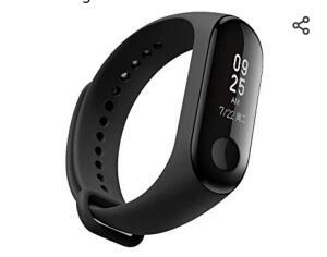 Relógio Inteligente Xiaomi Mi Band 3 a Prova d'Água OLEDTouch Preto | R$70