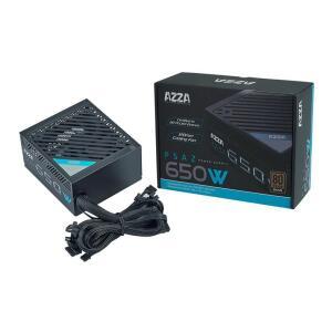 Fonte Gamer AZZA 650W 80 PLUS Bronze PFC ATIVO, PSAZ-650W | R$370
