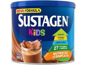 [cliente ouro + leve 6 pague 5] Complemento Alimentar Infantil Sustagen Kids - Chocolate 380g   R$19