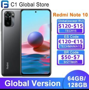 Smartphone REDMI NOTE 10 128GB / 4GB   R$973