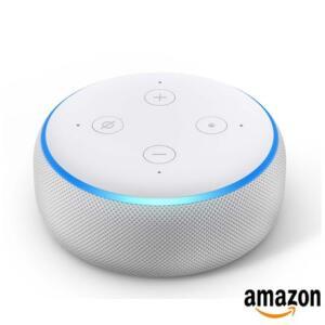 ECHO DOT 3a geração Smart Speaker Amazon com Alexa Branco | R$236