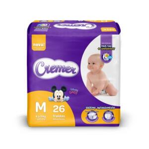(APP) Fraldas Cremer Disney Baby M - 26 Unidades - Cremer R$13