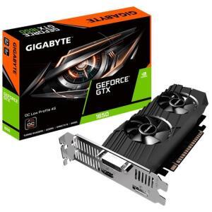 Placa de Vídeo Gigabyte NVIDIA GeForce GTX 1650 OC Low Profile, 4GB, GDDR5 - GV-N1650OC-4GL | R$1805