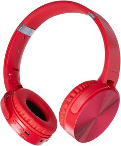 Headphone Premium Bluetooth Sd/Aux/Fm Vermelho Multilaser - PH266 | R$85