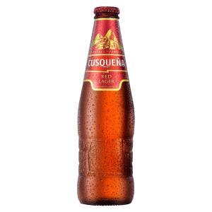 Cerveja CUSQUEÑA Red Lager Garrafa 330ml   R$6