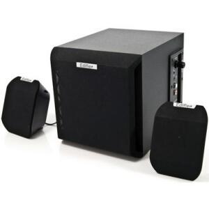 Caixa de som Edifier 2.1 15W RMS X100B - Black | R$250