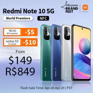 Redmi Note 10 5G - NFC | R$ 852