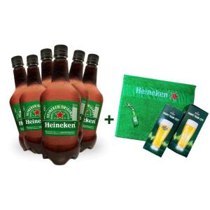 Compre 6 Litros Chopp Heineken e Ganhe 2 Copos, 1 Toalha de Mão e 1 Abridor | R$100