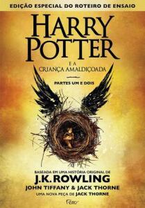 Livro - Harry Potter e a criança amaldiçoada - Parte 1 e 2 | R$10