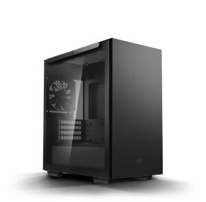 Gabinete DeepCool Macube 110 MidTower Preto Vidro Temperado | R$352