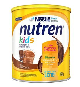[Recorrência] Suplemento Alimentar, Nutren Kids, Chocolate, 350g   R$13