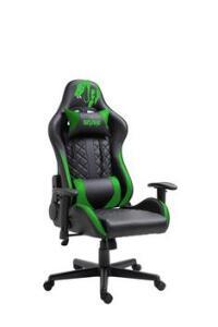 Cadeira Gamer Mamba Negra Snake Gaming Reclinável 9183 - Verde | R$675