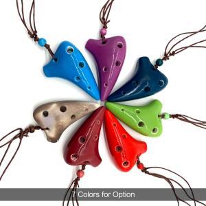 Ocarina 6 furos - Tom Alto C | R$19