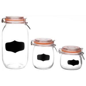Conjunto de Potes Casa Ambiente, 3 Peças | R$47