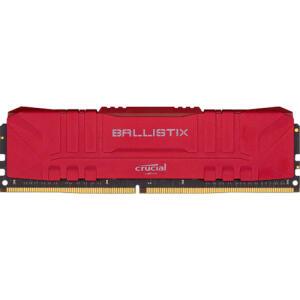 Memória Crucial Ballistix 8GB DDR4-2666 Desktop Gaming Memory (Red) | R$288