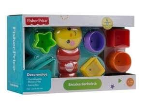 Brinquedo Encaixa Borboleta com 6 Peças Fisher Price | R$36