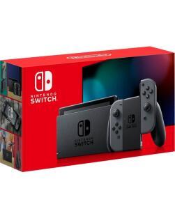(Novos usuários) Console Nintendo Switch 32gb + Gray Joy-Con | R$2080