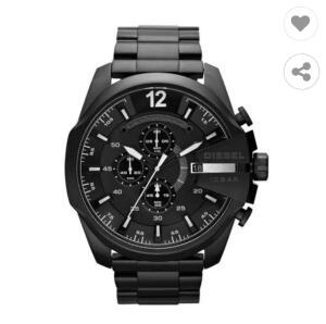 Relógio Masculino Diesel DZ4283/1PI 52mm Aço Preto | R$379