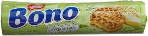 Biscoito/Bolacha, Torta de Limão, Bono, 140g R$1,37