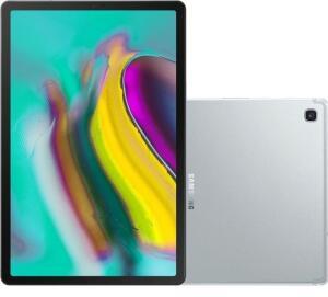 "(REEMBALADO) Tablet Samsung Galaxy Tab S5e 64GB Wi-Fi 4G Tela 10.5"" Android Octa-Core 2.0GHz - Prata R$1.749"