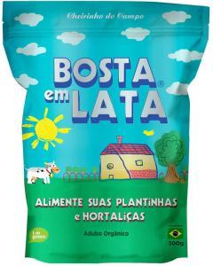 Fertilizante Orgânico Bosta em Lata Plantas e Hortaliças Zip - 300 G R$15