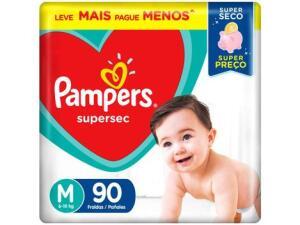 (M,G, XG E XXG - SUPER SEC E CONFORT SEC) Fraldas Pampers
