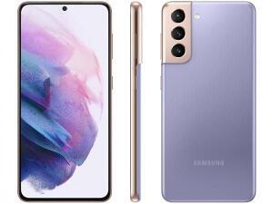 [APP | Usuários selecionados] Samsung Galaxy S21 (Violeta e Rosa) | R$2499